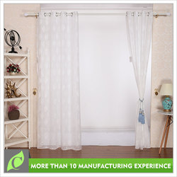 Window curtains design Classical Bedroom use double layer voile curtain