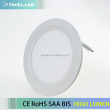 18 watt round ceiling super bright ultra slim flat panel led lighting