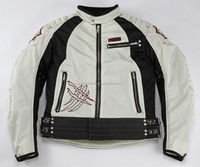 Japan fierce design stylish motorcycle cheap men jacket with velcro and snap buttons
