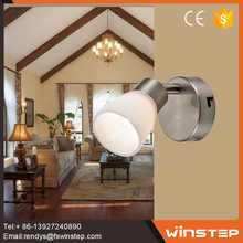 Fashion bedroom simple electronic led wall lamp