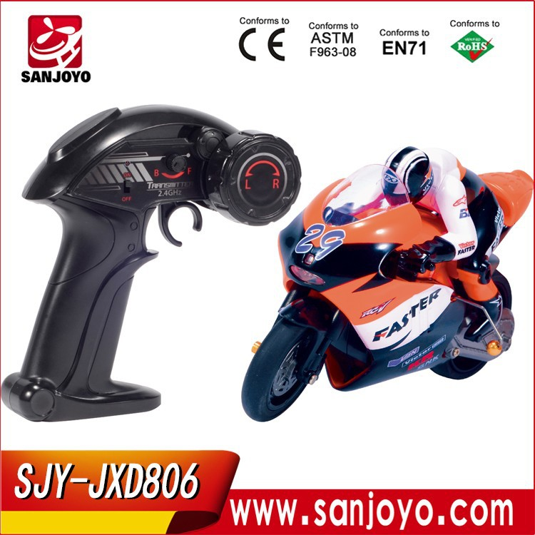 1:16 Full Scale 4CH 2.4G RC Racing <strong>Motorbike</strong> model Electric Toys Radio Control <strong>Motorbike</strong> JXD-806