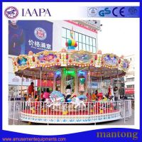 Outdoor Amusements Rides Children Indoor Kids Carousel Rides