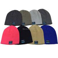 2016 Winter muti color men bluetooth beanie hat