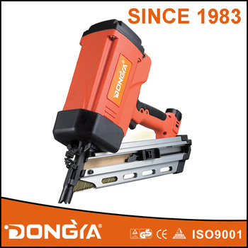 Powerful Industrial Quality 34 Degree Gas Framing Nailer GSN83D