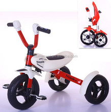 Newest style factory directly child folding baby pedal kids tricycle with CE certificate
