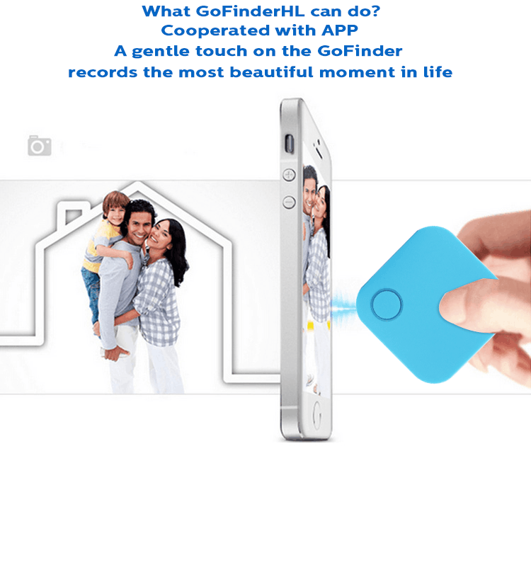 Waterproof IP66 New Key Finder Bluetooth Remote Shutter Control Mobile Phone Accessories Taking Photo Alone