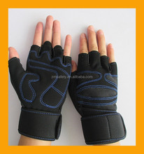 Custom Wrist Support Anti Vibration Boby Building Weight Lifting Gloves, Weightlifting Gloves