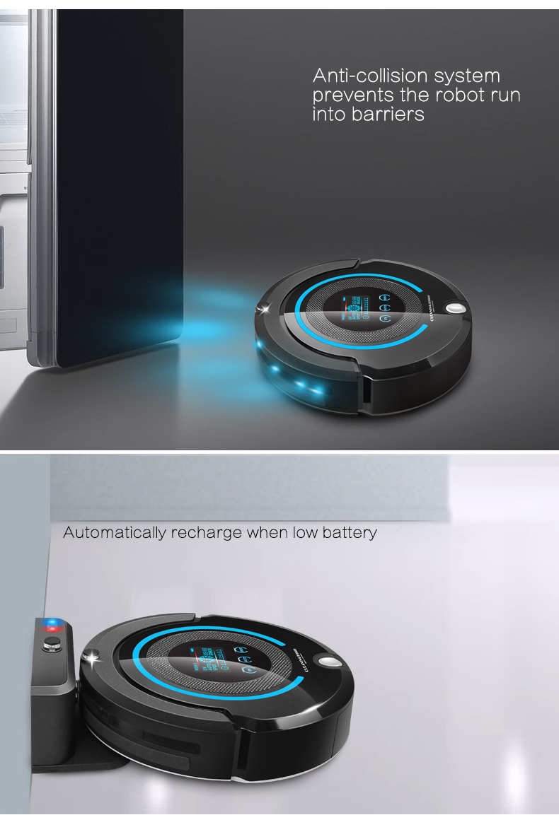 High-end Multifunctional Intelligent Vacuum Cleaner A338
