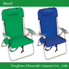 outdoor Heated folding cooler backpack hiking plastic handle beach chair