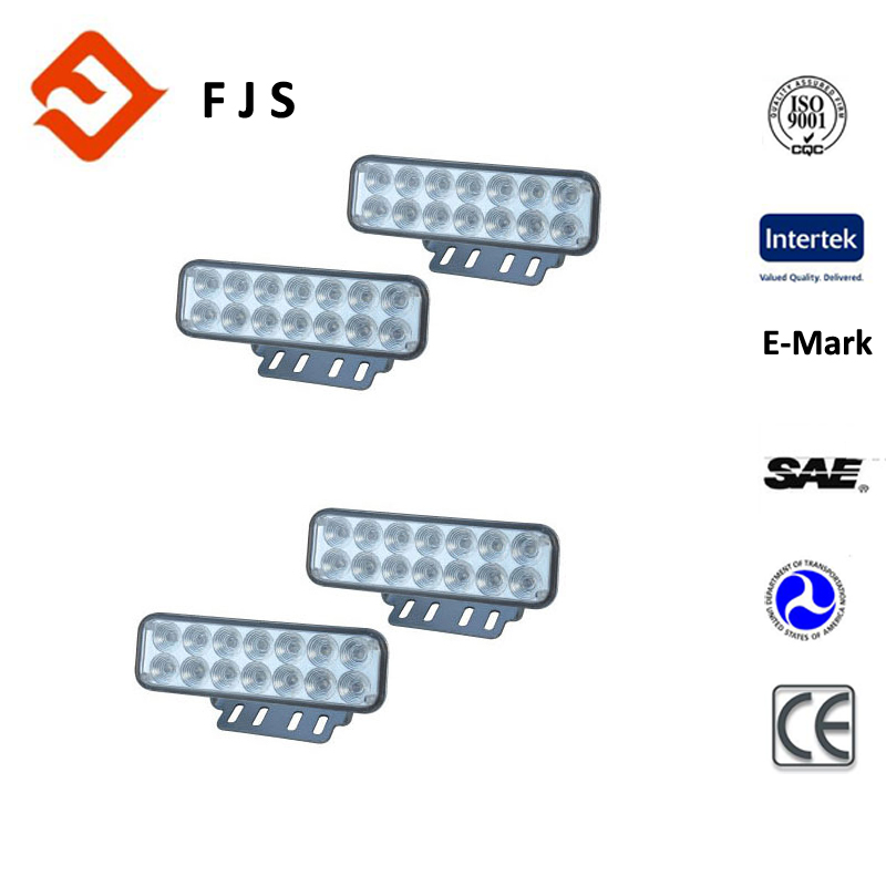 145*45mm 12V 14pcs rohs led daytime running light for freelander 2