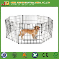6 pcs Panel Metal Play Run Cage /Pet Dog Puppy Pen for Rabbit Guinea Pig Cat
