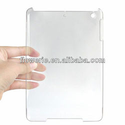 FL2210 2013Guangzhou hot selling selling ultrathin transparent crystal case for ipad mini