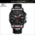 2017 new arrival 5ATM waterproof men watch Chronograph function japanese quartz watch