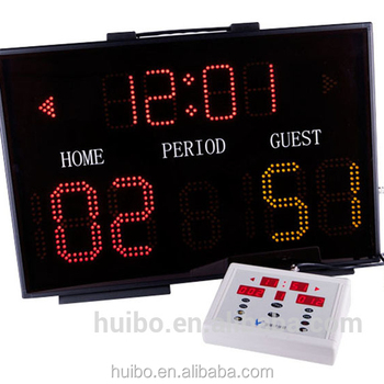 Digital basketball scoreboard electronic scoreboard