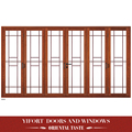 Chinese style wooden double single swing door designs