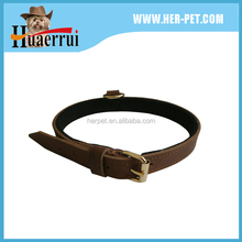 Best Selling Fashion Leather 2 Inch Wide Spiked Dog Collars
