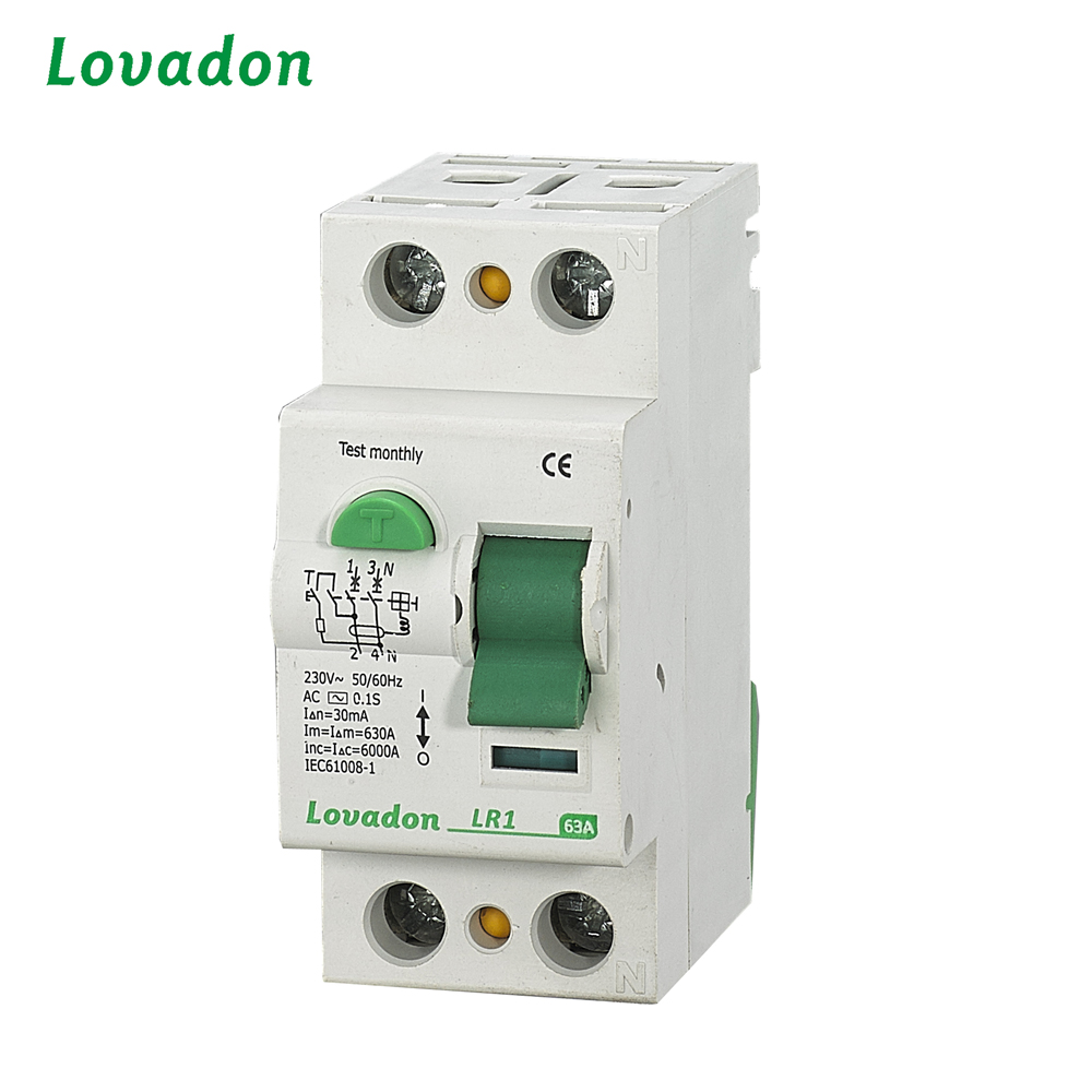 New Type LR1 RCCB Lockout Circuit Breaker Accessories Residual Current device Circuit Breaker