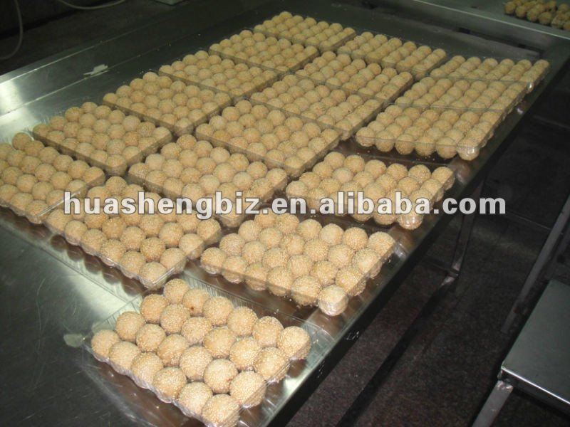 Frozen fried sesame ball
