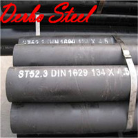 A & A Manufacturer DIN 1629/4 Carbon Seamless Steel Pipe, Conveying Gas Oil