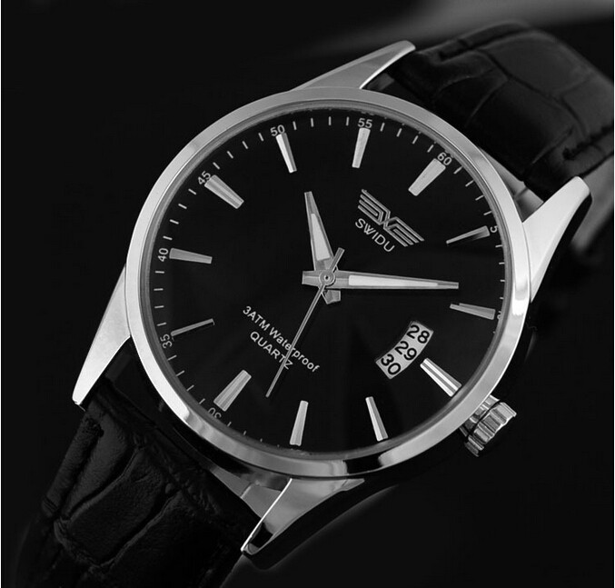 Cheap price wholesale good quality leahter wrist watches for men