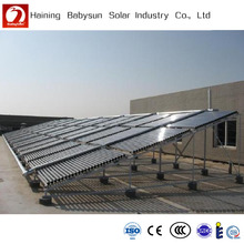 Swimming pool Solar heating system, Unpressurized collector