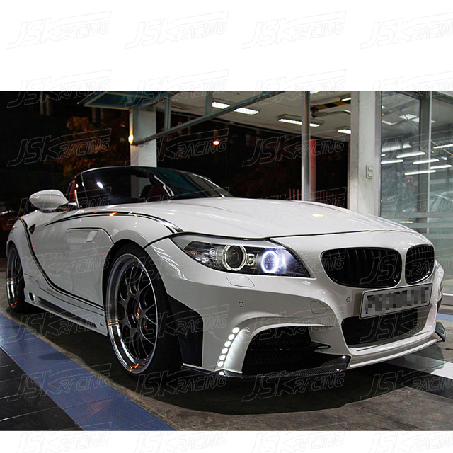 2009 Bmw Z4: 2009-2013 Rowen Style Half Carbon Fiber Body Kit For Bmw