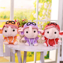 Cartoon Glasses Elephant Stuffed & Plush Sweet Toys