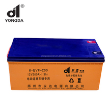 12V 150AH long life Solar Gel Storage Battery powered for electric motorcycle