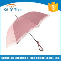 Best price superior quality pink lace umbrella cost