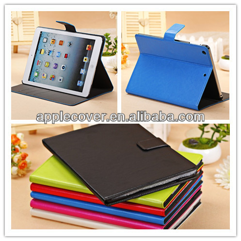 Crazy Horse Stand Leather Cover for iPad Air