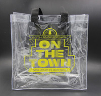 high quality waterproof Clear Pvc shopping bag