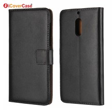 Cellphone Accessories Coque Fundas Stand Flip Cover Wallet Genuine Leather Case for Nokia 3 5 6 Phone Cases