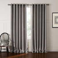 Alibaba Manufacturer Produce 100% Polyester Window Blackout Fabric Curtain