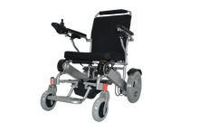 4 wheels power wheelchair with PU solid tire