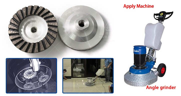 High Working Efficiency Diamond Grinding Wheels for Stone