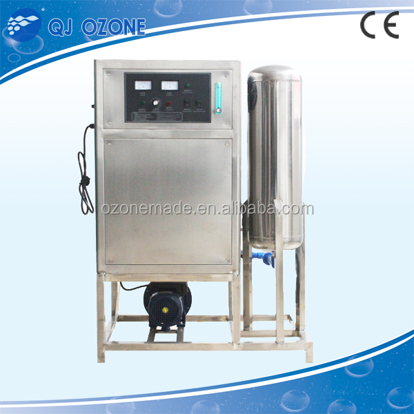 Industrial meat fruit vegetable sterilizer fresh water ozone machine