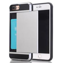 Hybrid TPU + PC armor protective cell phone cover with Slide type for Samsung S3 mobile phone case