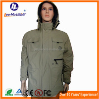 Hot sale men style clothing, inexpensive electric heated hunting clothing