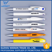 Office stationery plastic ballpoint pens, Non-toxic ink pen stationery product