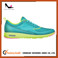 Latest design sport shoe golf shoe for wholesale