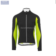 cycling clothes Bike Wind Jacket Long Sleeve zip up collar contrast color slim fit Bicycle Clothing Unisex custom cycling jersey
