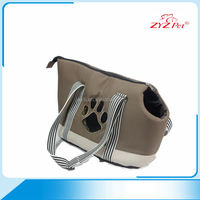 Top quality attractive price canvas pet carrier bag for dog