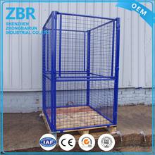 steel crates foldable australian standard metal wire mesh pallet cage