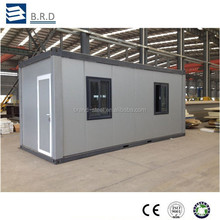 Certificated easy transportation customized self contained container house in factory