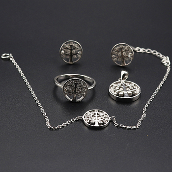In stock indian designer german women collection indian silver jewelry