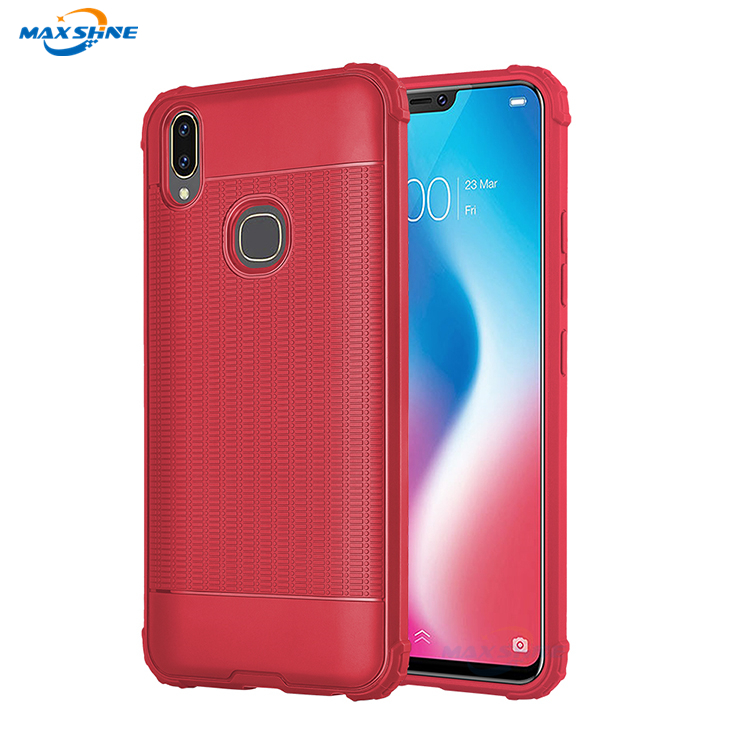Maxshine Hot Product Custom Shockproof Phone Case For Vivo V7 , Mobile Phone Tpu Back Cover Case For Vivo V9