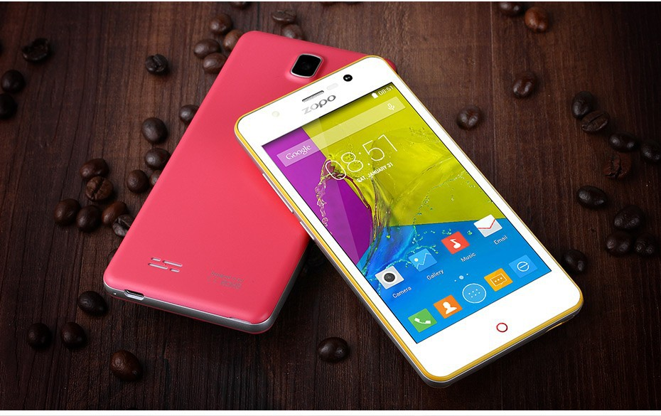 1G+8G 4.5inch IPS Dual SIM Android 5.1 Smart Phone Unlocked ZOPO 4G smart phone FOCUS ZP330