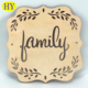 Wholesale Custom Laser Cut Cheap Blank Coasters Wood