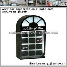 acrylic box body jewelry findings display stand,earing display