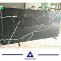 Artificial quartz calacatta quartz slab price black quartz
